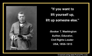 /Booker_T._Washington More quotes: http://www.brainyquote.com/quotes ...