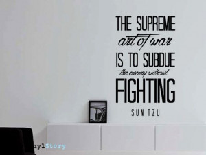 ... sun-tzu-quote-art-of-war-wall-decal-the Wall Quotes, Wall Decal, Tzu