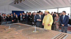 Moroccan King Mohammed VI attends the official launch of the ...