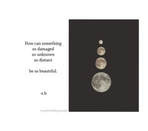 life text happy sad quotes beautiful words inspiration alone moon ...