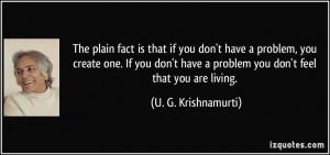 Krishnamurti Quote
