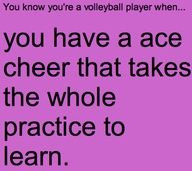 Haha volleyball quotes | You know your a volleyball player when ...