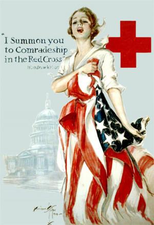 Woodrow Wilson Ww1 Quotes Woodrow wilson, red cross