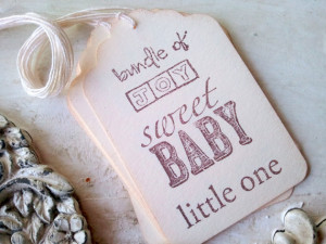 Baby Gift Tags, Baby Quotes, Baby Shower Decor, Favor Tags, New Baby ...