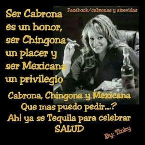 Cabrona, chingona y mexicana!: The Divas, Jenny La, Frases Para Mujer ...