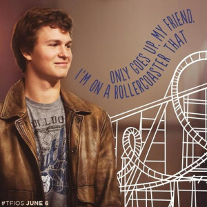 Augustus Waters - the-fault-in-our-stars-2014-film Photo