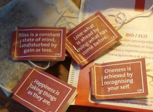 Tea bag tag quotes – amazing