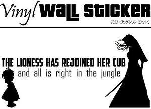 ... sticker-Kill-Bill-movie-quote-Tarantino-vinyl-mural-decal-film-Samurai