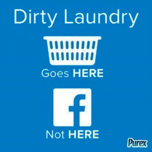 DIRTY LAUNDRY Posted on: 17/02/14 Category: Everyday ODD