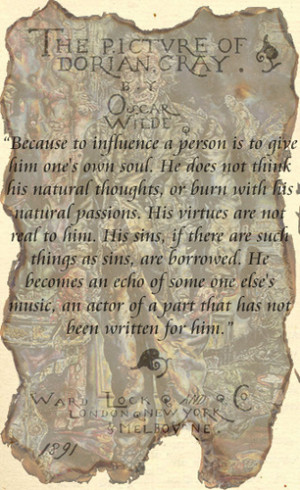 Dorian Gray Quotes Oscar Wilde