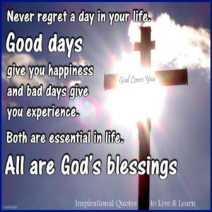 God Quotes : God Blessings