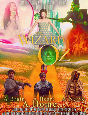 : Emma is Dorothy from the Wizard of Oz. Regina is the wicked witch ...
