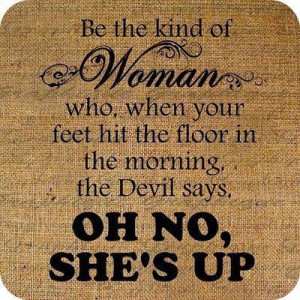 advice, devil, funny, good morning, lol, outlook, strong, wake up ...
