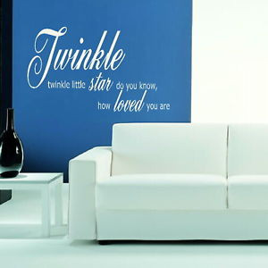 Twinkle-Little-Star-Kids-Quote-Large-Decal-Childrens-Wall-Sticker ...