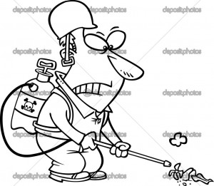 Sign Coloring Page Outline Cartoon Black And White