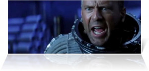 Photo of Bruce Willis as Harry S. Stamper , in