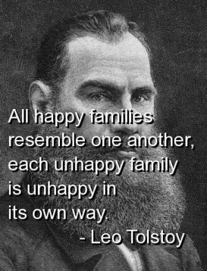 Leo tolstoy quotes and sayings life happiness family