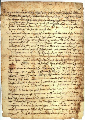Niccolò Machiavelli, Il Principe, original manuscript (1513)