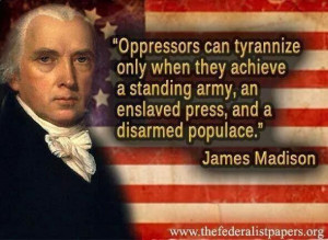 James Madison Quote. Only one more to go...