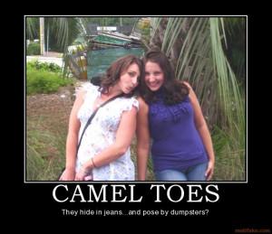 camel toes camel toe toes dumpster fat girls yo yo smuggler ...