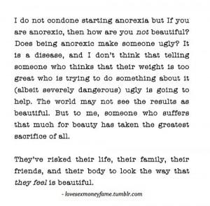 anorexia tumblr quotes