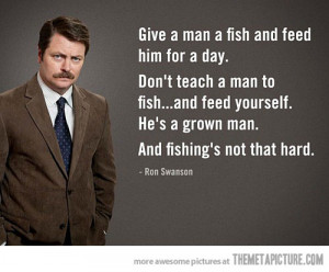 funny Ron Swanson Parks and Recreation