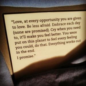 wrote this for you (Iain Thomas)
