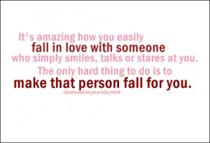 ... love fall for you |FOLLOW BEST LOVE QUOTES ON TUMBLR FOR MORE LOVE