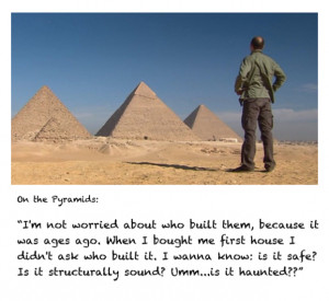 Karl's Quotes and Pictures From Egypt