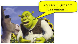 Shrek: For your information, there's a lot more to ogres than people ...