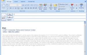 Sarcastic Email Signature