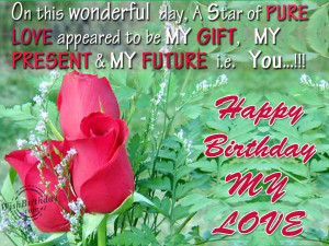 Birthday Wallpaper For Girlfriend. Romantic Quotes For Your Girlfriend ...