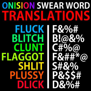 Onision Swear Word Translation in Youtube-Stars , by MeryHeartless
