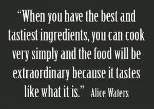 Alice Waters | The Art of Simple Food + Video . . .