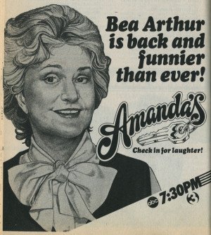 maude 1972 78 and golden girls 185 92 the always brilliant beatrice ...