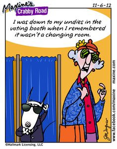 road for election day more funny pics cartoons ideas maxine funny ...