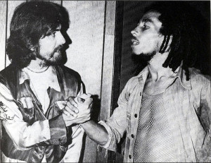 George Harrison Meets Bob Marley, 1975