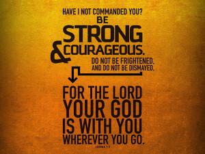 Joshua 1.9 1 Bible Verse