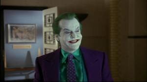 ... un joven Jack Napier en Batman como David U. Hodges en batman forever