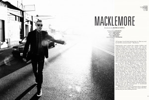 ... luck to ben ryan tricia of macklemore local seattleites going it big