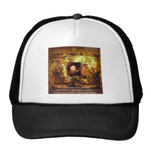 Peter Paul Rubens Art & Quote Gifts & Cards Trucker Hats
