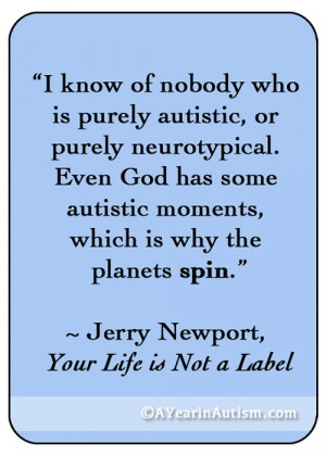 autism quote #inspirational