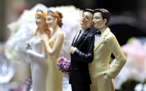 The UK's first same sex marriages will take place this weekend. Photo ...