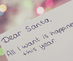 christmas, cute, dear santa, happiness, nice - inspiring picture on ...