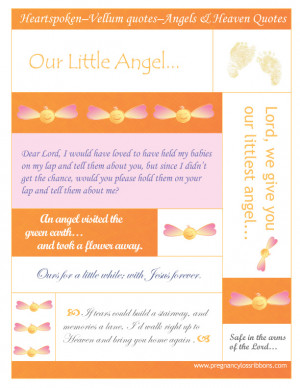 Heartspoken Vellum quotes 4: Angels and Heaven quotes