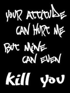 Attitude Quotes On Wallpaper. QuotesGram