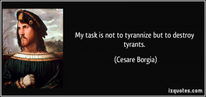 More Cesare Borgia Quotes
