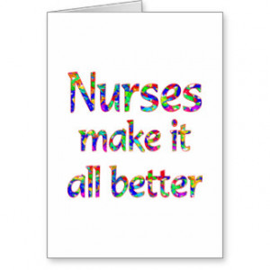 Nurse Appreciation Greeting Cards