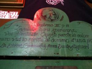 Latin quotes from Dante Alighieri's