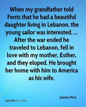 In Lebanon Quotes